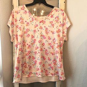 Lane Bryant Floral Blouse Size 14/16